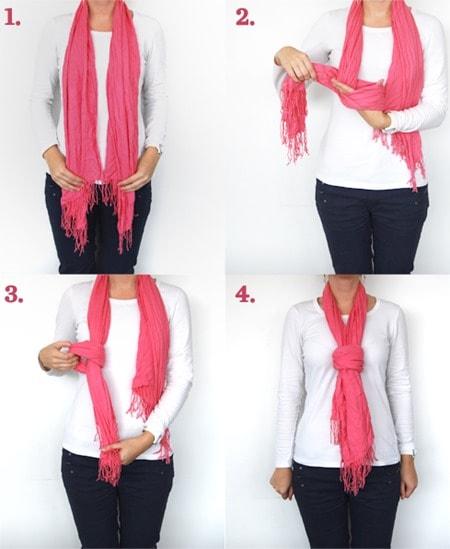 Fake Knot scarf