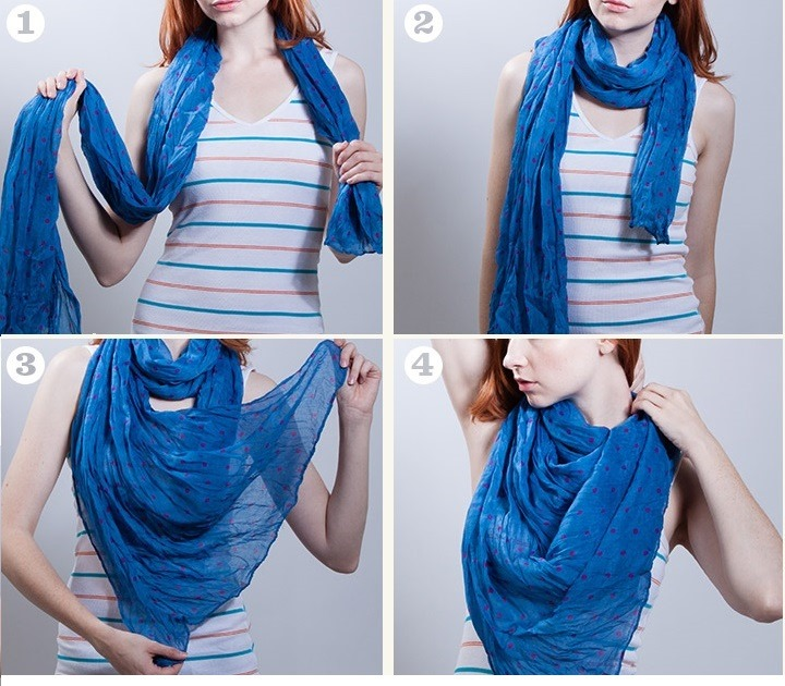 26 Techniques About How To Tie Scarf Around Your Neck Women Elite