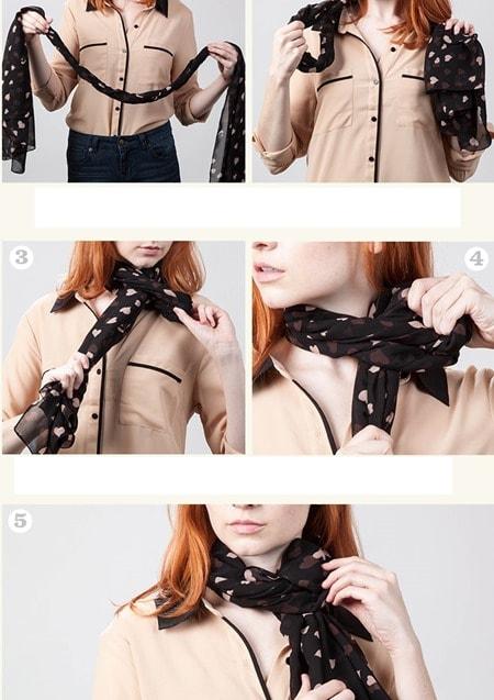 ophelia2 scarf Knot