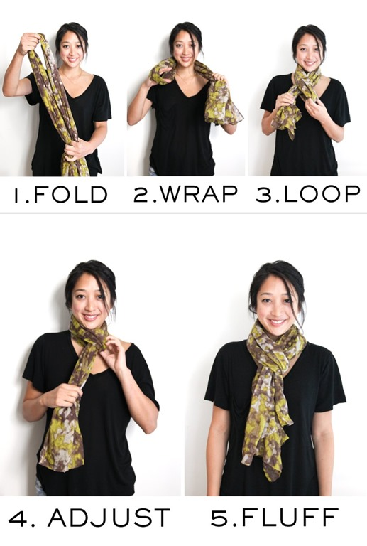 26 techniques about how to tie scarf around your neck women elite tie a slip knot scarf ccuart Choice Image