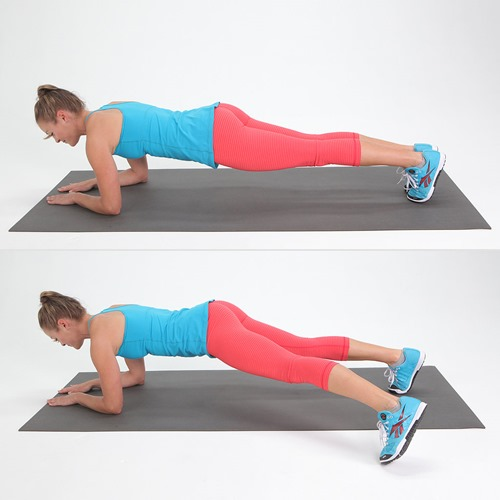 Pendulum plank - Abs exercises for Women