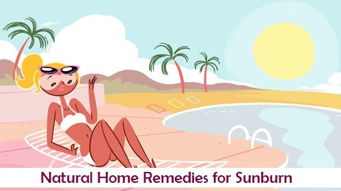 How to get rid of Sunburn - Remedies