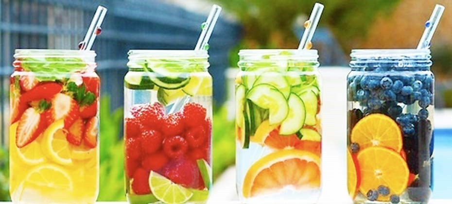 healthy fruit infused water fig fruit
