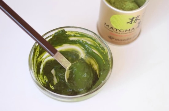 green tea facepack for blackheads