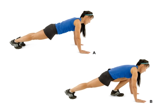 mountain climbers workout
