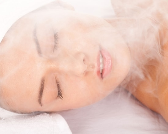 steaming your face for glowing skin
