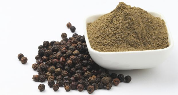 Black pepper helps in weight loss and as fat burner