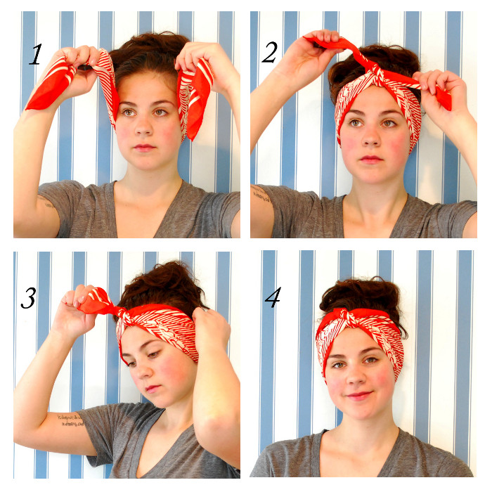 How to tie a bandana 9 different ways women elite tie the classic bandana headband how to tie a ccuart Gallery