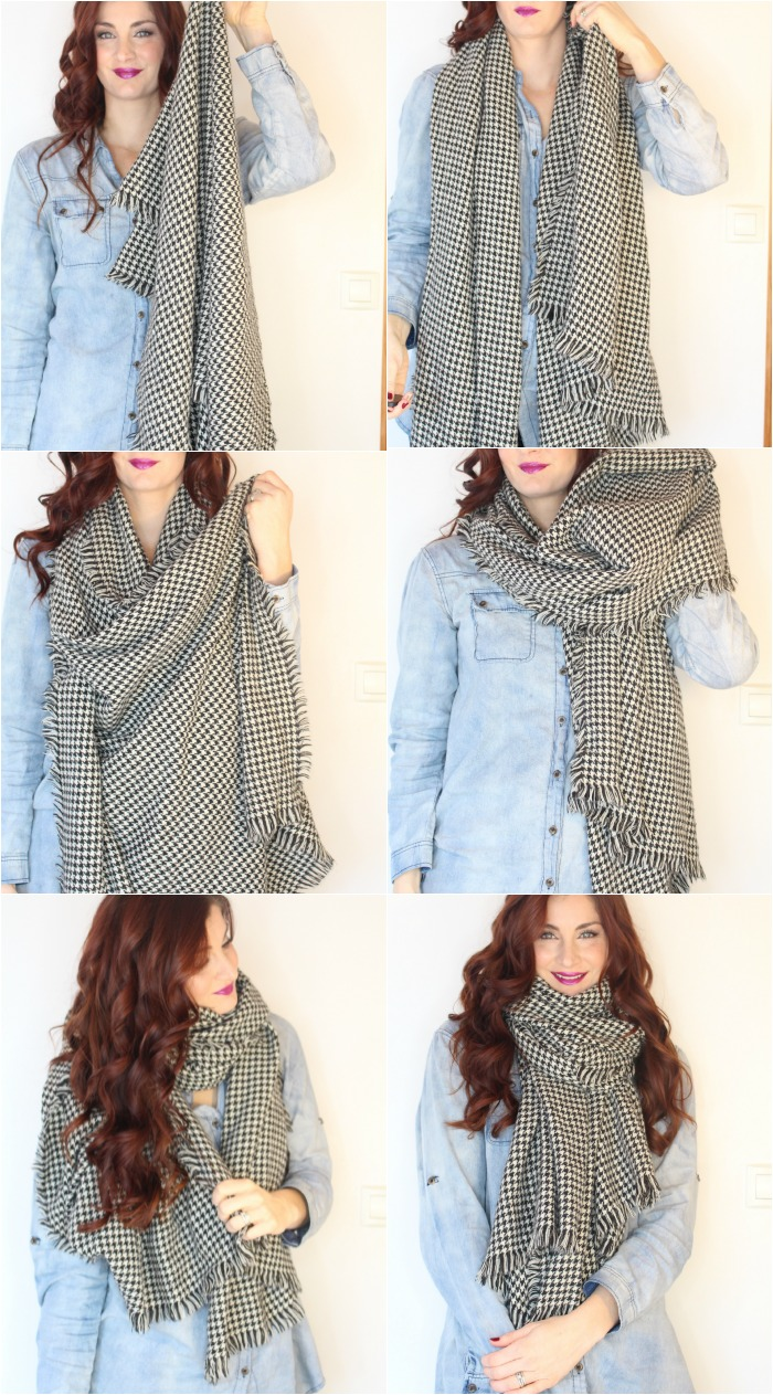 How To Wear A Blanket Scarf 5 Different Ways To Tie Them