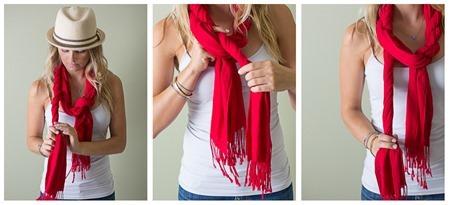 wreath tie a scarf around neck 2