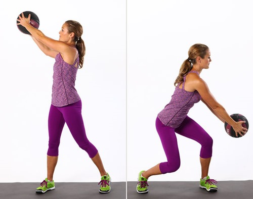Diagonal Chops - Ab Exercise for Women