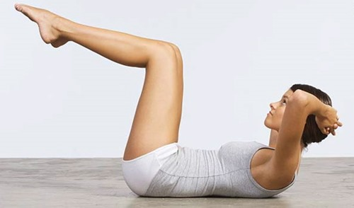 standard-crunches - women ab exercises