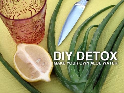 Aloe Vera Detox Cleansing Water