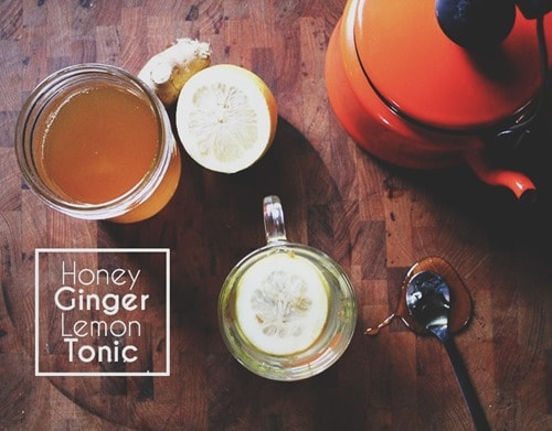 Honey Ginger Lemon Detox Water
