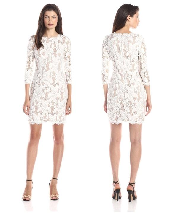 Short Lace Part dress for women