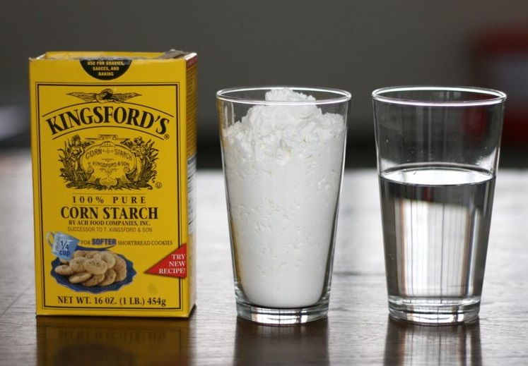Cornstarch and Water for Cold-sores