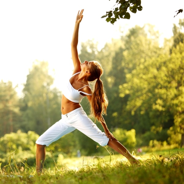 Yoga exercise to lose belly fat and love handles