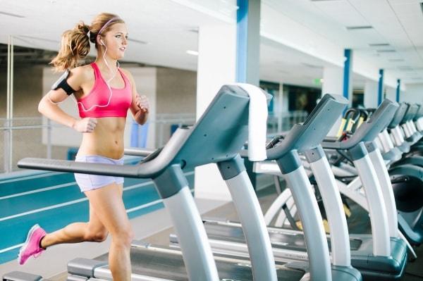 girl on cardio workouts