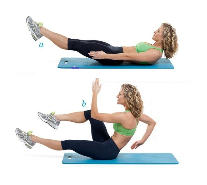 sprinters workout for abs